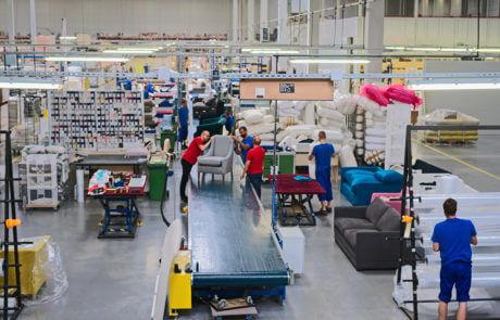 Praca: pracownik pomocniczy, praca Robakowo, Gądki, Zaparoh - nowoczesna fabryka mebli tapicerowanych